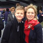 Thanks so much @BonnieCrombie for taking this picture with me at todays rally! http://t.co/uVNu7aJLld