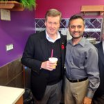 RT @johntoryTO: Midway through my #44in72 tour and needing a boost at @boosterjuice #ward4 #TOpoli #Toronto with @CouncillorLeon http://t.co/3l4Fdl1JJ0