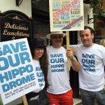 RT @louisetbrighton: #Brighton @savehippodrome @CarolineLucas http://t.co/XcspKJasrV