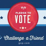 Take the challenge & Resolve to be a voter today. http://t.co/DjNxjc6v7U Take the @GOP Voter Challenge. http://t.co/IjCh8gm7sz