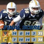 Box score from the Mocs 38-31 win over Mercer - http://t.co/SL2noVgk5S - #GoMocs 4-0 in SoCon play for the 1st time! http://t.co/Lf0Ruxybqq