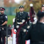 Earlier today, the changing of the guard, under guard. #ottawashooting #ottawastrong http://t.co/IAmJ1FX2bM
