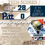 We cant keep up with the graphics. #Jackets lead 28-0 (9:44/1Q) #GTvsPITT http://t.co/g9byR0tHoT
