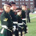 The Argyll and Southern Highlanders were on hand for todays opening ceremony at Ron Joyce Stadium. http://t.co/0HBc47Bvc6