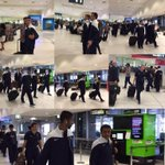 مجموعة صور من مغادرة البعثة الهلالية الان من سيدني والعودة إلى الرياض - موعد وصولهم غداً في 3:00 عصراً #الهلال http://t.co/j5G6v3Xlhw