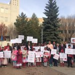 Members of the Muslim community in #yxe are gathering at city hall right now #skcbc #cbcyxe http://t.co/0ORRKMFP3J