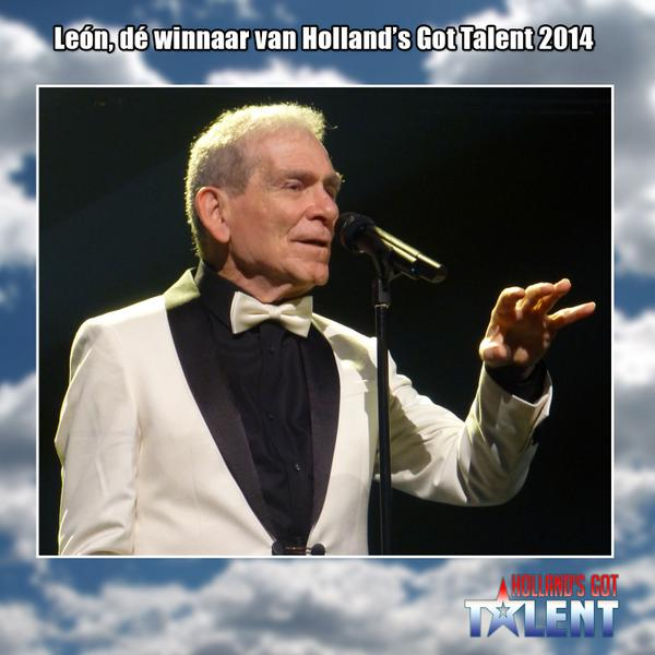 #Leon is de absolute winnaar van Holland's Got Talent 2014! #HGT http://t.co/fT8OzXnSDQ
