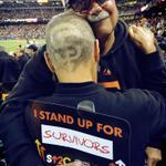 #SFGiants season ticket member & cancer #Survivor Kiki Wells with her husband Bob @SU2C #OctoberTogether http://t.co/I5ZvvsVRv6