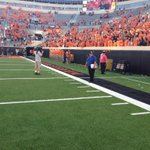 RT @KOCOCarson: No players or coaches stuck around for the alma mater. #okstate http://t.co/ve8BGDPf6J