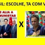 RT @verdadesbancoop: BRASIL: Chegou a hora d por fim a CORRUPÇÃO VERMELHA institucionalizada desd 2003 VOTE 45 AÉCIO CONTRA CORRUPÇÃO http://t.co/XraaIAFjVS