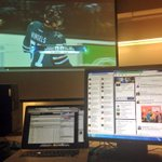 RT @ckanal: Set up for the #Sabres game.. in a classroom at Penn State. Thanks @Eric_Bress! #BUFvsSJS #footballtofollow http://t.co/tVySbIwFVI