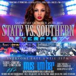 Catch me on the 1s and 2s tonight at the official after party for GSU vs GS game the only city will be at #MuseumBar http://t.co/ekVbO70Uff