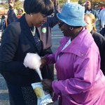 RT @MurielBowser: Talking with an early voter at the #WeDoVote rally. Lets get out and vote, DC! http://t.co/l49fBcaopp http://t.co/mWzpMgUGJF