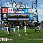 RT @SFGiants: #SFGiants take the field for pregame stretch #OctoberTogether http://t.co/45EVJeCnKD