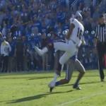 RT @BleacherReport: VIDEO: Kentucky's Blake McClain blasted Mississippi State's Joe Morrow with a massive hit http://t.co/2hO3nwVpas http://t.co/B28FhoVmZ8