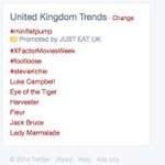 Thanks for helping us trend @SimonCowell Free starter or sundae on us next visit :) http://t.co/DaBFc0I9xs #xfactor http://t.co/5SnpHVWmqj