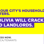 RT @oliviachow: Half of all households in Toronto rent their homes. Time to strengthen their rights. http://t.co/miCHn3gFsv #TOpoli http://t.co/VQNbmXkOmF