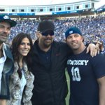 Stoops goes all Cal and has Toby Keith cheering on the Cats today... And hes been into it. http://t.co/hFARVv2udW