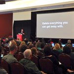 RT @sonjanyc: Best #contentstrategy advice of the day by @michaelarestad #wcsf http://t.co/QBk1je2SqK