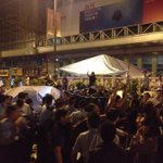 RT @LeoAW: Police charge into tents, destroying them after scuffles with anti-protester in Mong Kok. http://t.co/ms4Hm01o4c