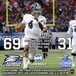RT @GSAthletics: FB: Eagles Win! Lets Pack Paulson Thursday and break the attendance record! http://t.co/slMSXRX3Rw