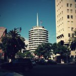 RT @AcrossLA: Iconic #Hollywood & Vine view of Capitol Records. #mydayinla @HollywoodLA311 @HollywoodPatch http://t.co/IX0oOLXUpP