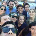 RT @luciabarozzi: Con todo la barra de @Concordia_Nac en la Rambla #PorLaPositiva #PerdónPorLaAlegría cc: @AnaLiaPineyrua http://t.co/qgM22nGOiN