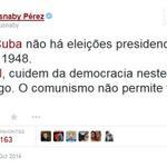 """RT @pauloquaresma2: ACORDA BRASIL! recado:Yusnaby Pérez Bloguero cubano,amante d la libertad. #AgoraEAecio45Confirma http://t.co/EHcSKSBk8D"""""""