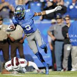 .@UKFootball s Demarco Robinson goes 67 yards for a Cats 1st half TD. #BBN #whynot #WeAreUK http://t.co/MltfvTfHol
