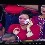 RT @clarkgaines: With all the problems going on in the world, she must have it easy. Crying over a college football game #MISSvsLSU http://t.co/ohRP3cZFzr