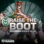 RT @CSUAthletics: The #BronzeBoot stays where it belongs! @CSUFootball beats Wyoming 45-31, improve to 7-1 on the year! #CSURams http://t.co/DOmGGuWSXS