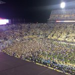 """Stands """"empty"""" at end of @LSUfball game again (in good way)? I can get used to this. Pay $5k fine in bourbon. http://t.co/cIkEQy0HxD"""