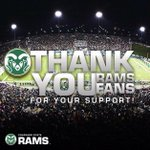 Thank you #CSURams fans for our second consecutive sellout! You were awesome! #BorderWar http://t.co/GC36AD9Na1