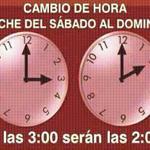 RT @mcpinete: Recuerden: Mañana inicia el Horario de invierno, hoy antes de dormir deben retrasar una hora los relojes. ⏰⌚️⏰⌚️ http://t.co/1O5ohwWzdS