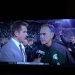 """""""I may not look it, but I feel real good."""" ~Coach Dantonio http://t.co/kUY2uYX3YD"""