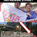 A Dilma usou a UJS, seu braço armado para vandalismo, para atacar a VEJA #AgoraEAecio45Confirma http://t.co/qLNMVWXTTl