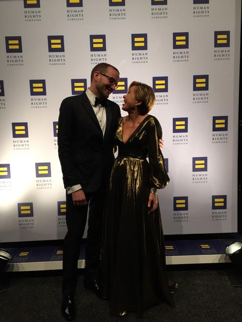 Me and the one and only @ChadHGriffin backstage at the @HRC gala in DC. #lifeisgood http://t.co/BaDnTJKg9a
