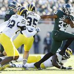 Spartans 35, Wolverines 11: Michigan State stays in control of rivalry with… http://t.co/WQBHleYXyU #Spartans http://t.co/0RmoMNLsZm