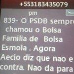 PSDB pede bloqueio de telefone que teria enviado mensagens com ameaças sobre o Bolsa Família. http://t.co/Z2Hd69Atxj http://t.co/uTJvMSrAku