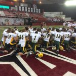 """RT to share the """"W"""" and spread the word about the Herd! NDSU defeats USD 47-7 to move to 8-0. #BisonPride http://t.co/EEdEBEXUv6"""