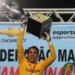 Rodrigo Ramos completa hoje 350 jogos com a camisa do Sampaio. Rodrigo está no clube desde 2008. PARABÉNS, PAREDÃO! http://t.co/fgpsg1ckKX