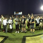 Great to have our football lettermen back for another #UCFHC!! #ChargeOn http://t.co/KBa2lHYBUK