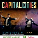 #Concierto de CAPITAL CITIES en #Guayaquil | 9 de Dic | Centro de Convenciones | Pide tus #entradas: 0994351907 http://t.co/jbnfQWoHeq