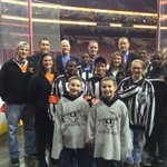 Special thanks to @NHL Officials for meeting students prior to tonights @NHLFlyers v @DetroitRedWings @CSNPhilly http://t.co/2CGSRUJIu0