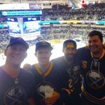 #sabres fans out in full effect in San Jose #onebuffalo @buffalosabres #sabres http://t.co/c4QcmD3q6W