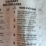 RT @TomBabin: Wow, Frostbike hit No. 2 on the @calgaryherald bestseller list! Thanks #yyc and #yycbike. You guys rule! http://t.co/840BCBikwd