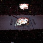 RT @MelnykEugene: Before tonight's game @Senators @NHLDevils &20,000 patriotic hockey fans standing UNITED in Ottawa. #TrueNorthStrong http://t.co/m5aGeZ0hQz
