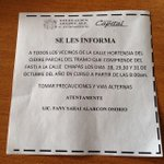 Aviso de #vialidad #Xalapa para los que viven en Hortensia @VialidadXalapa #Xalapeños http://t.co/nNHJKZL0BQ http://t.co/bQhsFrVKHs