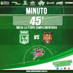 RT @nacionaloficial: Inicia la etapa complementaria en el Atanasio Girardot. #AtléticoNacional 0-0 Águilas Pereira. #MiNacionalenvivo http://t.co/OLQ3qsV0fy