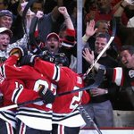 Weve got #Blackhawks hockey live & IN STEREO now on 87.7 fm / http://t.co/aGys2vbNSl / The Games free app. #OneGoal http://t.co/8zK9687eU2